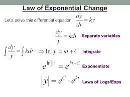 AP Calculus: February 6, 2017! Exponential Growth and Decay pt 1 ...